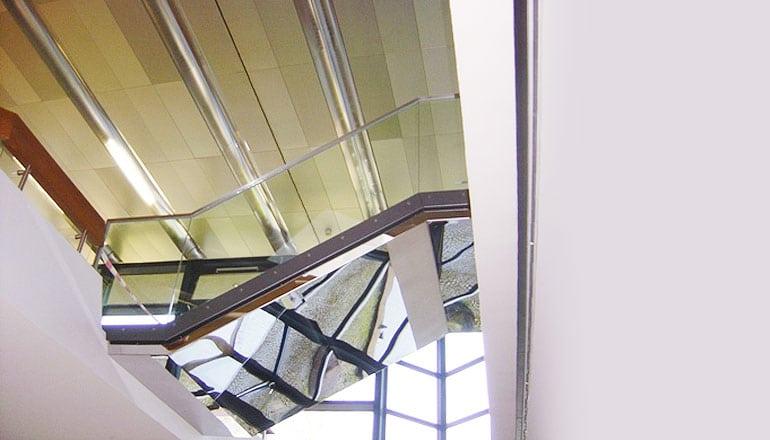 Treppe Museum am Löwentor