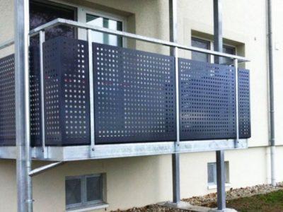 Balkonanlage Geländerbau